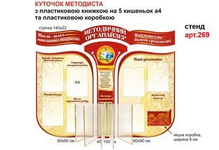 методический уголок фигурный купить, стенд в методический кабинет, стенд для методиста фігурний купити, стенд в методичний кабінет