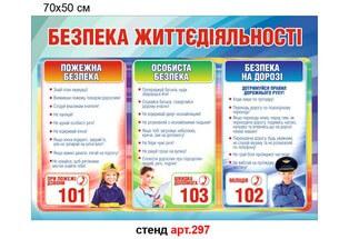 стенд безопасность жизнедеятельности, стенд по пдд, стенд по пожарной безопасности, стенд по личной безопасности, стенд с полезными номерами для детей, стенд безпека життєдіяльності, стенд з пдр, стенд з пожежної безпеки, стенд з особистої безпеки, стенд