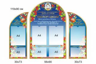 Паспорт школи, стенди для оформлення школи