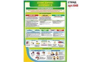 Домедична допомога для дівчат комплект 5 шт №648