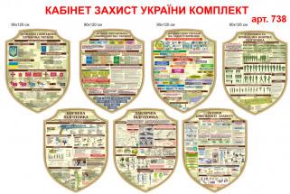 захист України стенди для оформлення кабінету