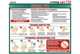 гигиена рук, техника мытья рук, гигиеническая антисептика рук стенд табличка