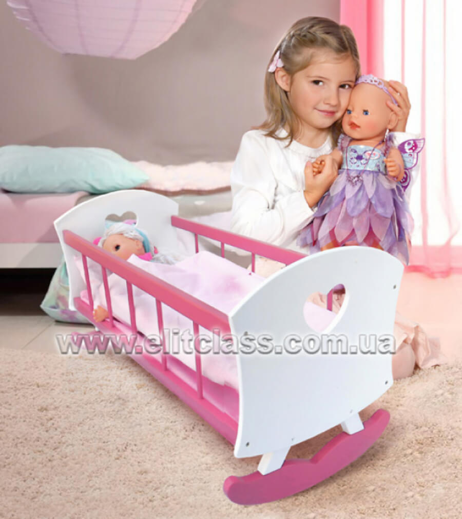 кроватка для большой куклы