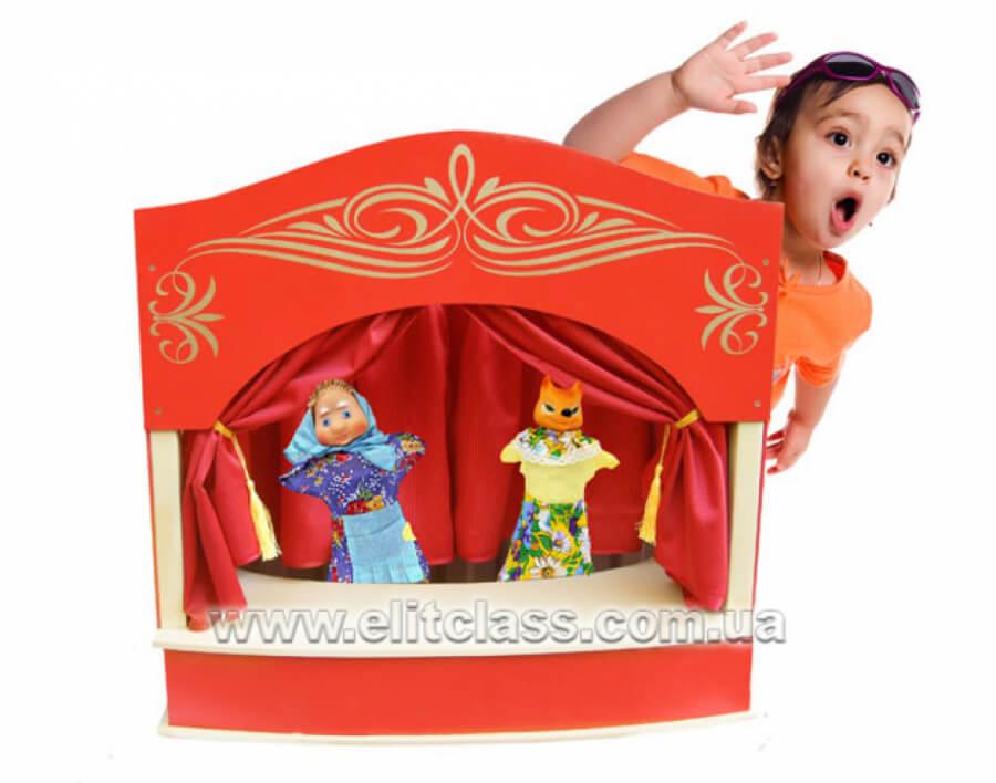 ширма для настольного кукольного театра