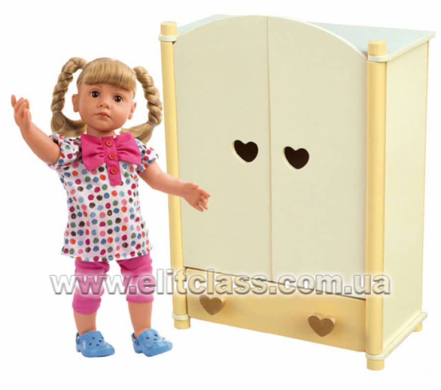 """Шкаф  для куклы """"Мальвинка"""""""
