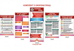 Охрана труда для организаций и учреждений стенд №1006