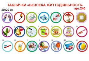 таблички-наклейки по безопасности можно - нельзя, наклейки по безопасности в детский сад купить, таблички-наклейки з безпеки можна - не можна, наклейки з безпеки в дитячий сад купити