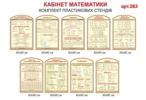 Стенди з математики №263