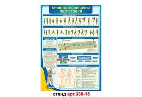 Стенд 15: Прикладна фізична підготовка №338-15