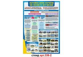 Стенд 2: Збройні сили України №338-2