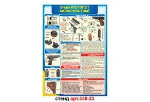Стенд 23: Пистолет Макарова №338-23