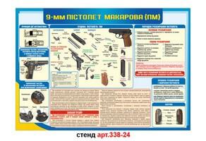 Стенд 24: Пистолет Макарова №338-24