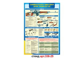 Стенд 25: Снайперская винтовка Драгунова №338-25