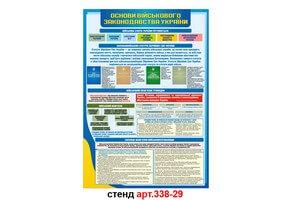 Стенд 29: Основи військового законодавства України №338-29