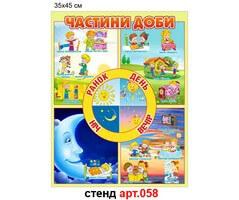 """""""Частини доби"""" стенд №58"""