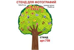 Сімейне дерево в кабінет англійської мови №759