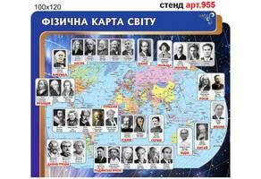 """""""Видатні фізики світу"""" стенд №955"""