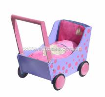 коляска фиолетовая