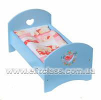"""Ліжко для ляльки """"Валерія"""""""