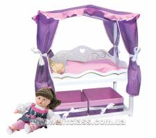 """Ліжко для ляльки 65 см """"Ярославна"""""""